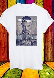 100% Vrai Prison Break Michael Scofield Série Tv Nouvelle Saison Hommes Femmes Unisexe T-shirt 575-afficher Le Titre D'origine Haute Qualité Et Bas Frais GéNéRaux