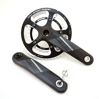 FSA Team Hollow Carbon Road Bike Crankset 165//172.5//170//175mm BB30//BB86//Mega Exo
