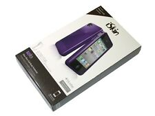 New iSkin Solo FX Case for iPhone 4/4S - Purple UNSOLO4G-PE - FREE SHIPPING