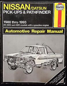 1980 1981 1991 1992 1993 nissan truck datsun nissan pathfinder rh ebay ie Nissan Truck Repair Manual Nissan Truck Repair Manual
