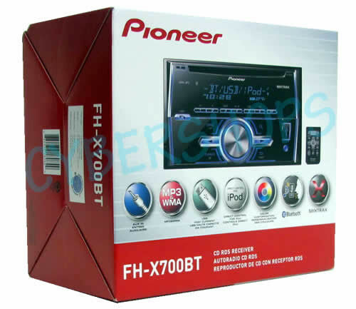 Pioneer Fh Usb  Cd Player In Dash Receiver For