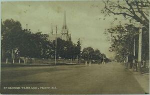 PERTH-ST-GEORGE-TERRACE-WEST-AUSTRALIA-EARLY-1900-S-POSTCARD