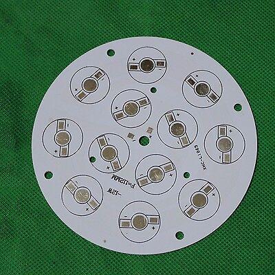1PCS 1W 3W led Aluminum PCB Circuit Board 110mm Round