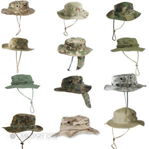Boys Army cap BDU FIELD CAP CADET CAP PLAIN BEIGE SMALL 55CM OR MEDIUM 56CM