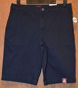 Boys Chino Shorts Adjustable Waist Flat Front Regular Husky Arizona Jeans