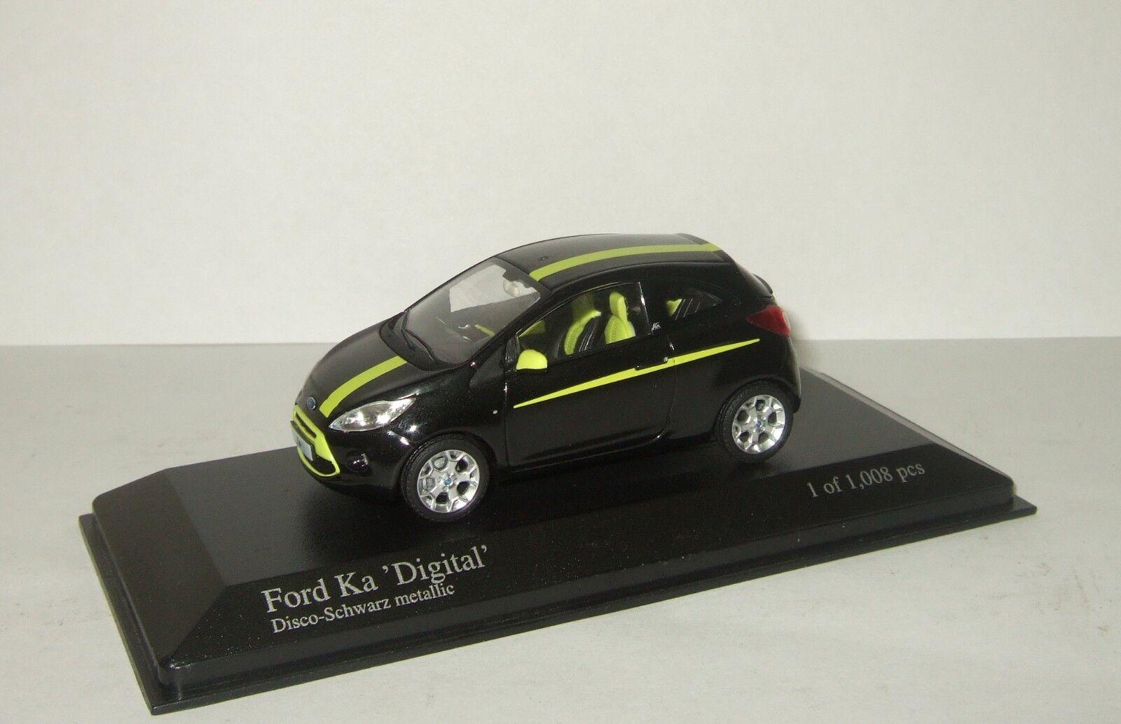 1 43 Minichamps Ford Ka Digital 2009