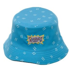 Image is loading NICKELODEON-90s-REWIND-RUGRATS-REPTAR-LOGO-REVERSIBLE- BUCKET- 7ad78402fc2a