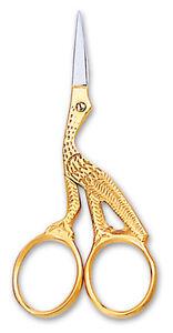 Professional-Eyebrow-Cuticle-Nail-Scissors-Fancy-Scissors-STORK-Shape