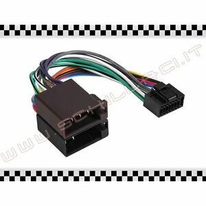 C23-cavo-adattatore-ISO-autoradio-KENWOOD-16-pin-connettore