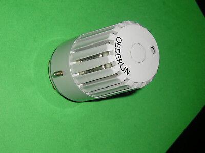 1 Oederlin Thermostatkopf BehÖrdenmodell Diebstahlsicherung Ventile Heizung