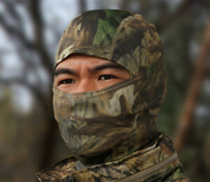 Camouflage-Balaclava-Face-Mask-Ski-Hunting-Airsoft-Motorcycle-REAL-WOODLAND-CAMO