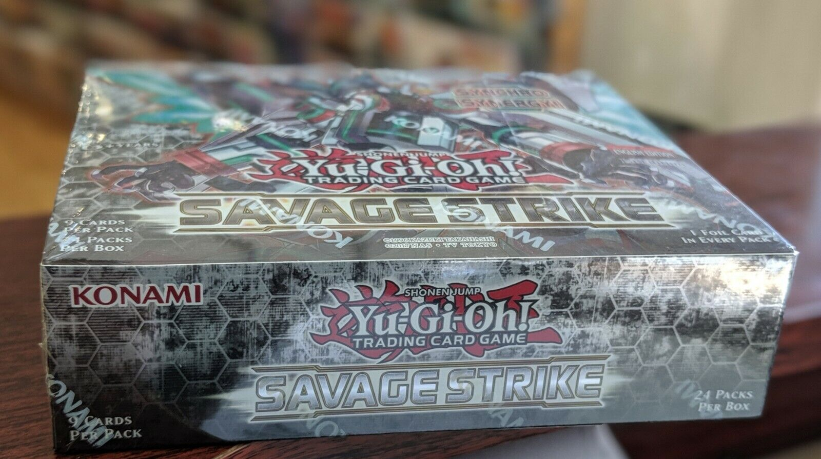 YuGioh.Savage Strike BOSTER BOX Gesmassaen Engels
