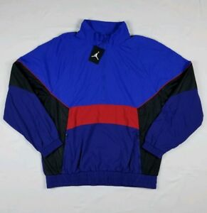 8ce76a9b830b71 Jordan AJ 3 Anorak Retro Track Jacket Men s Sz XXL Blue AQ0942-405 ...