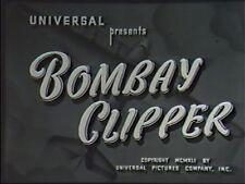 BOMBAY CLIPPER 1942 (DVD) WILLIAM GARGAN, IRENE HERVEY