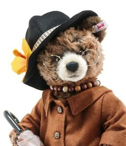 "NEW! Steiff 2019 PADDINGTON/'S AUNT LUCY 16/"" Ltd Ed of 1500 Mohair 690778"