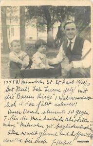 1910-St-Paul-Minnesota-Children-in-Pull-Wagon-RPPC-Real-photo-postcard-831