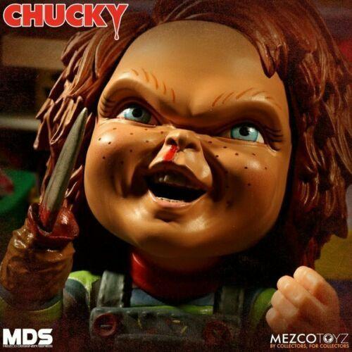 Mezco Designer SERIE MDS Chucky 6 pollici Action Figure Nuovo