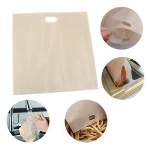 5x-wiederverwendbare-Toaster-Tasche-Antihaft-Grill-Coated-Mikrowellen-Heizung