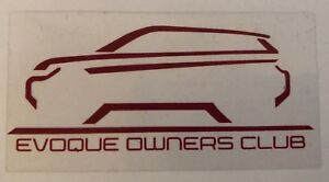 Evoque-Owners-Club-EOC-Stickers-Non-Adhesive-Range-Rover-Evoque-Window-Decals
