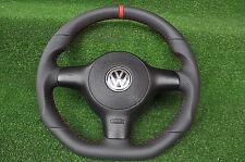 VOLANTE Volante in Pelle Golf VW POLO 6n2 LUPO 6n 1999-2001 OTTIMO STATO!