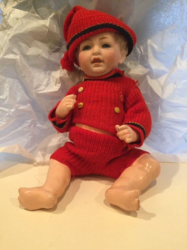 Antique JDK Kestner Germany 211 Baby Doll 9