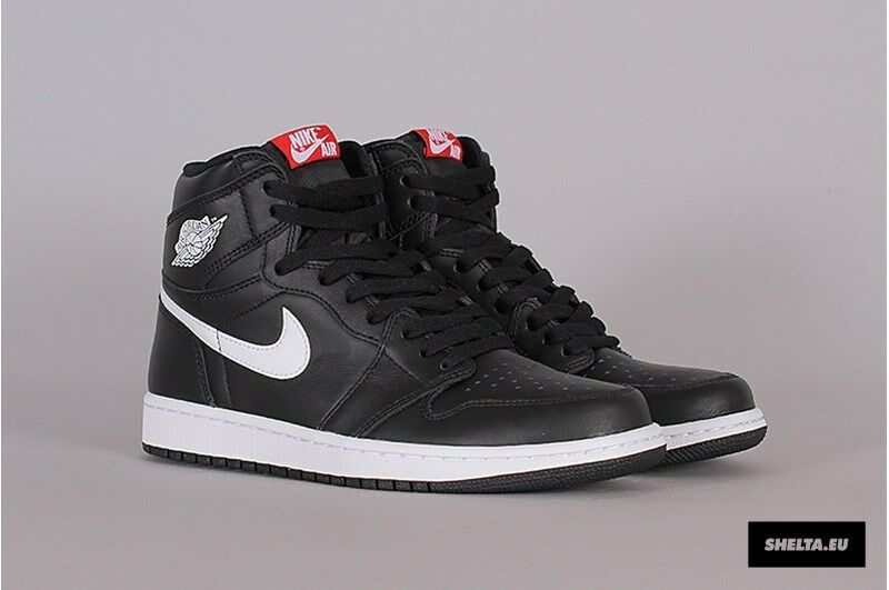 Nike Air Jordan 1 Retro High OG Black White Yin Yang Size 7.5. 555088-011