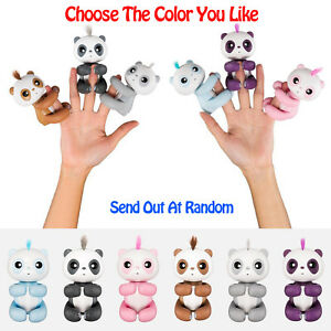 Sonstige Fingerlings Baby Panda Children Kids Toy Interactive Finger TOP