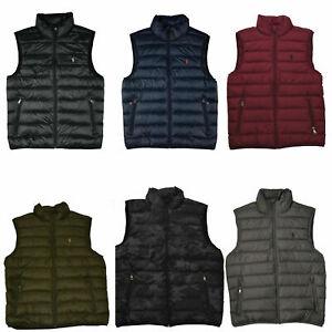 NWT-Men-039-s-Polo-Ralph-Lauren-DOWN-FILLED-Puffer-Vest-Jacket-Packable-Size-S-M-L