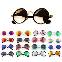 New Fashion Sunglass Vintage Eyewear Round Retro Metal Frame Classic Sunglasses