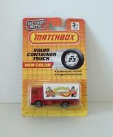 Matchbox Vintage Volvo Container Truck Big Top Circus Mb23 1990 Diecast