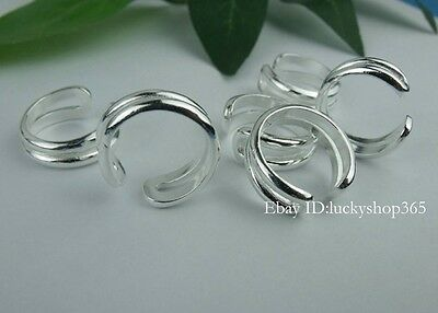 New!!Wholesale lots 10pcs S80 Silver toe Rings