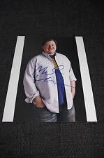 MICHAEL CHERNUS signed Autogramm 20x25 cm Foto InPerson Spider-Man: Homecoming