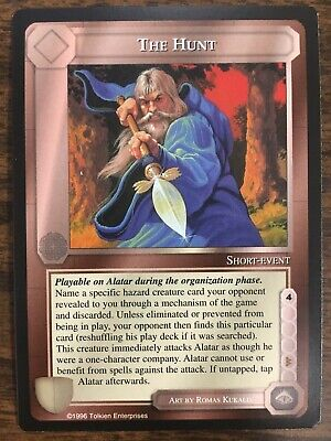 Fury of the Iron Crown x 1 MECCG METW Promo Card TCG Middle Earth CCG