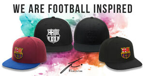 FC BARCELONA BASEBALL HATS Fi COLLECTION CHOOSE YOUR DESIGN OFFICIALLY LICENSED