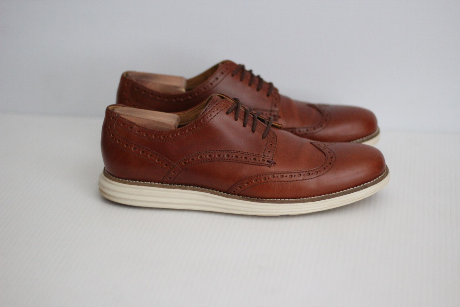 Cole Haan Original Original Original Grand Wingtip Oxford - Chestnut Brown - 10M - C22793  (S62) 184b08