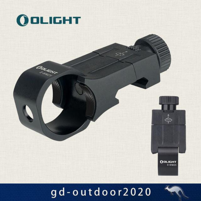 OLIGHT E-WM25 Tactical Flashlight Offset Mount for Flashlight Warrior X and M2R