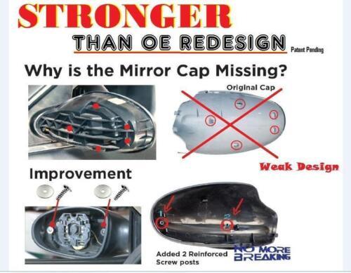 FOR 02-06 NISSAN ALTIMA MIRROR CAP COVER PAIR SET BX4 OPAL BLUE PM05