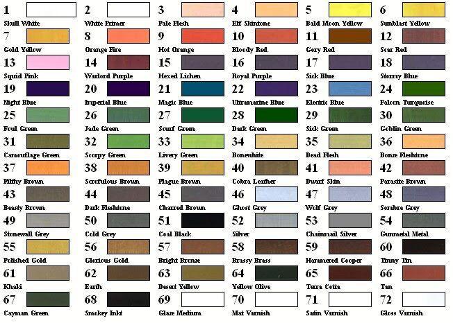 50 farbe de juego vallejo pinturas acr í licas elija en 50 artista