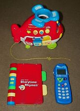 3 VTECH Activity Toys EXPLORE & LEARN HELICOPTER Sounds Nursery Rhymes PHONE (2)