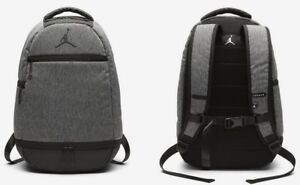 a6201c637055ed Nike Air Jordan Backpack Skyline Heather w  Laptop Sleeve   Wet Dry ...