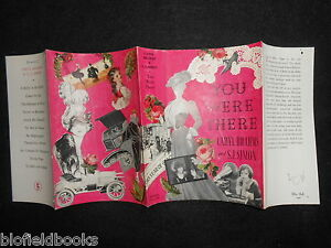 ORIGINAL-VINTAGE-DUSTJACKET-ONLY-for-You-Were-There-by-Caryl-Brahms-S-J-Simons