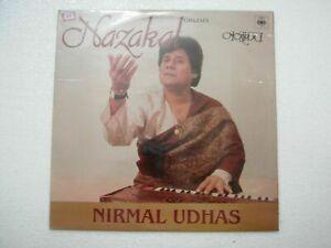 NIRMAL UDHAS NAZAKAT 1985 RARE LP RECORD Orig vinyl india hindi GHAZAL EX
