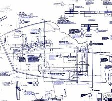 De HAVILLAND MOSQUITO DH98 BLUEPRINT PLANS WW2 PERIOD DRAWINGS VERY RARE ARCHIVE