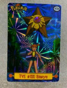 Topps Starmie Sticker Pokemon Card NM