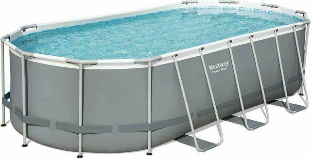 Bestway 18 X9 X48 Rectangular Above Ground Pool For Sale Online Ebay