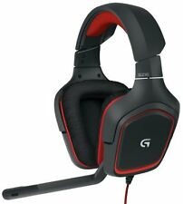 N Logitech G230 Stereo Gaming Noise-cancelling Wired Headset (981-000541)