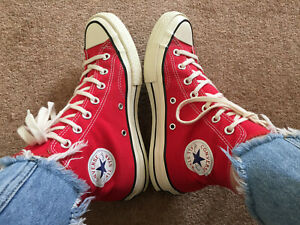 CONVERSE 70S RED CHUCK TAYLOR ALL* STAR