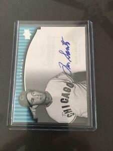 2008-Upper-Deck-Premier-Autograph-Silver-Ron-Santo-16-25-Chicago-Cubs-HOF-RARE