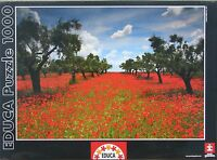Educa Poppy Field 1000 Pc Jigsaw Puzzle