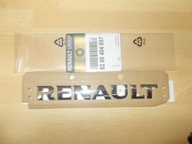 Renault Clio II, Duster, Kangoo II, Megane II, Scenic II badge (rear) 8200484897